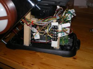 Wiring of talkie toaster
