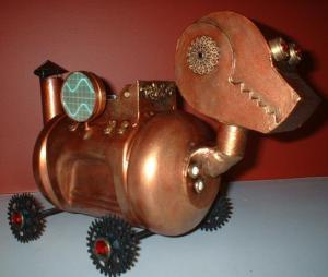 Steam punk model