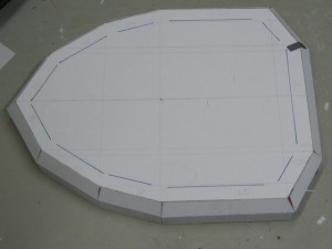 view of finished base