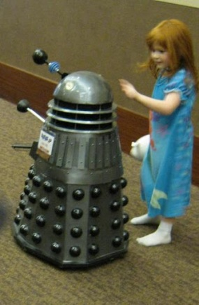 girl and Dalek