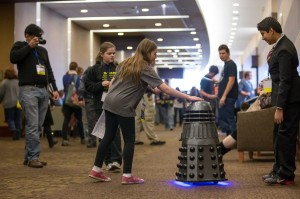 Dome touching the newest Dalek sport