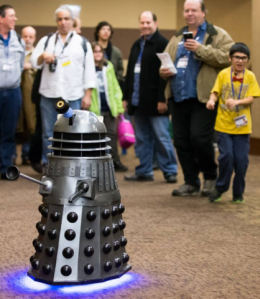 People just want to be close to the Dalek