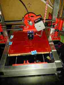 3d printer front view