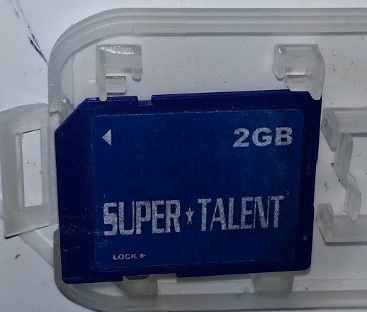 2GB SDcard