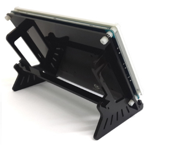screen holder for a touch screen