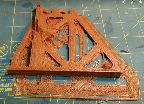 3D printed power supply holder