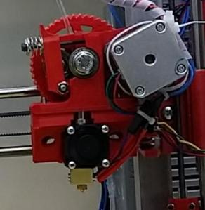 The stepper motor failed